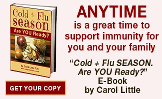 Cold + Flu Ebook Banner!