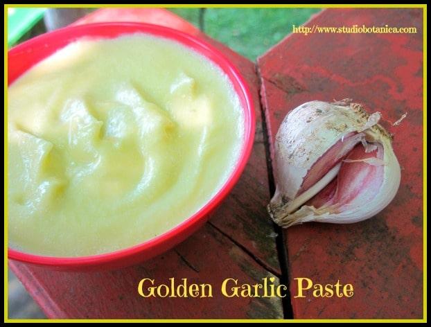 Golden Garlic Paste