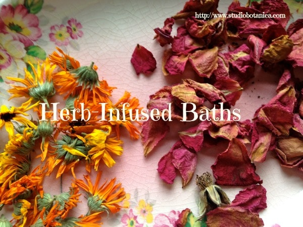 Herb Infused Baths