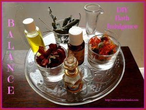 Self Care ~ DIY Bath Crystals with herbs!