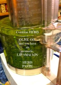 Herb Paste also Nettle Pesto with or without cheese!