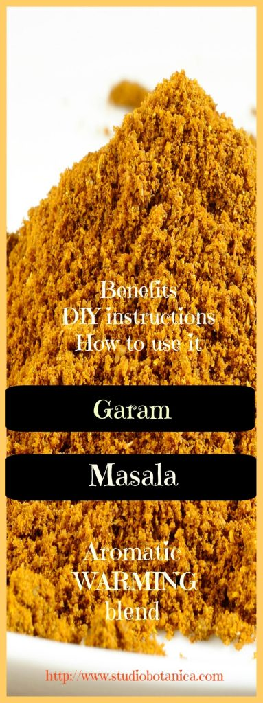 DIY Garam Masala blend