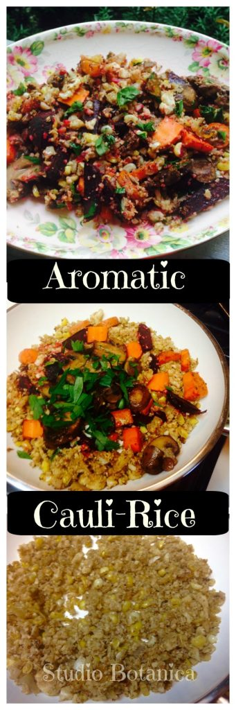 Aromatic Cauliflower Rice