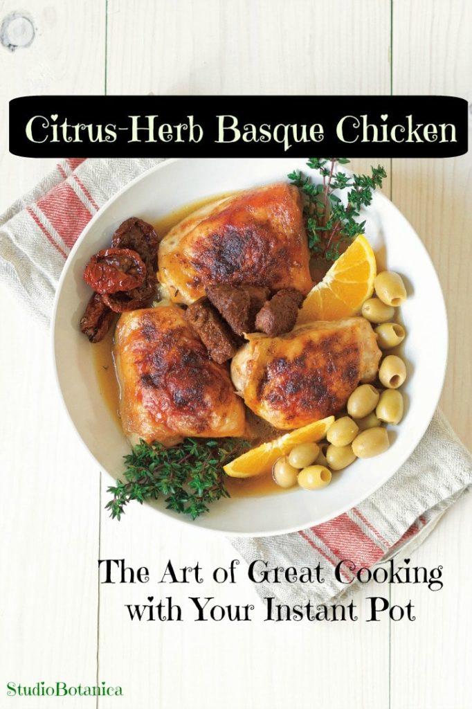 Citrus Herb Basque Chicken