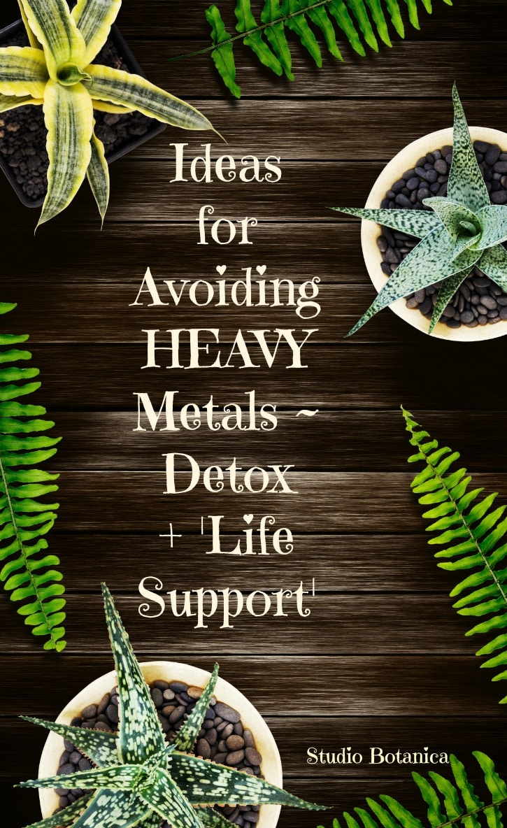Learn how to avoid Heavy Metals in your life, detox and live better ...